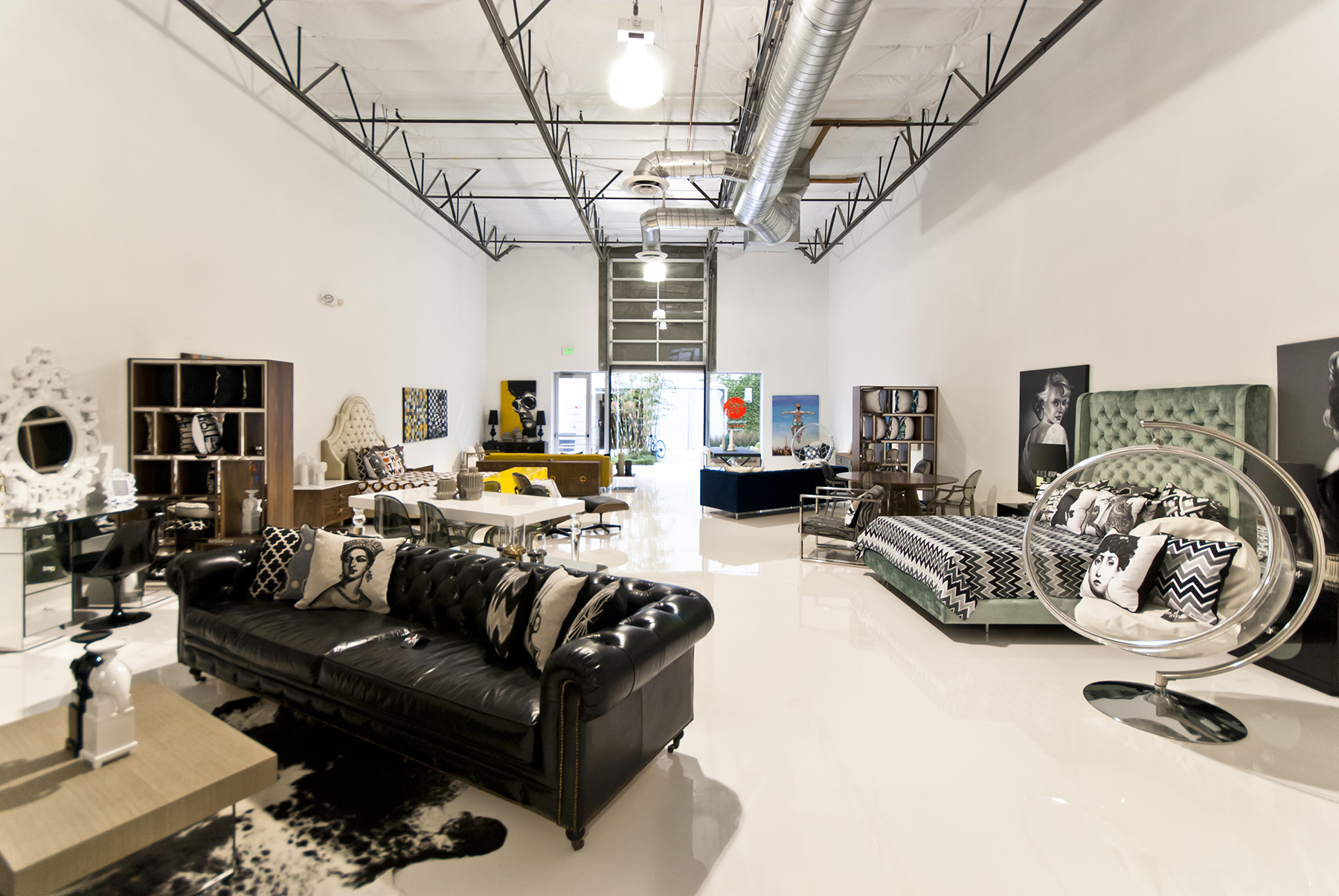 Furniture Warehouse Of Modern Furniture Store In Orange County Ca