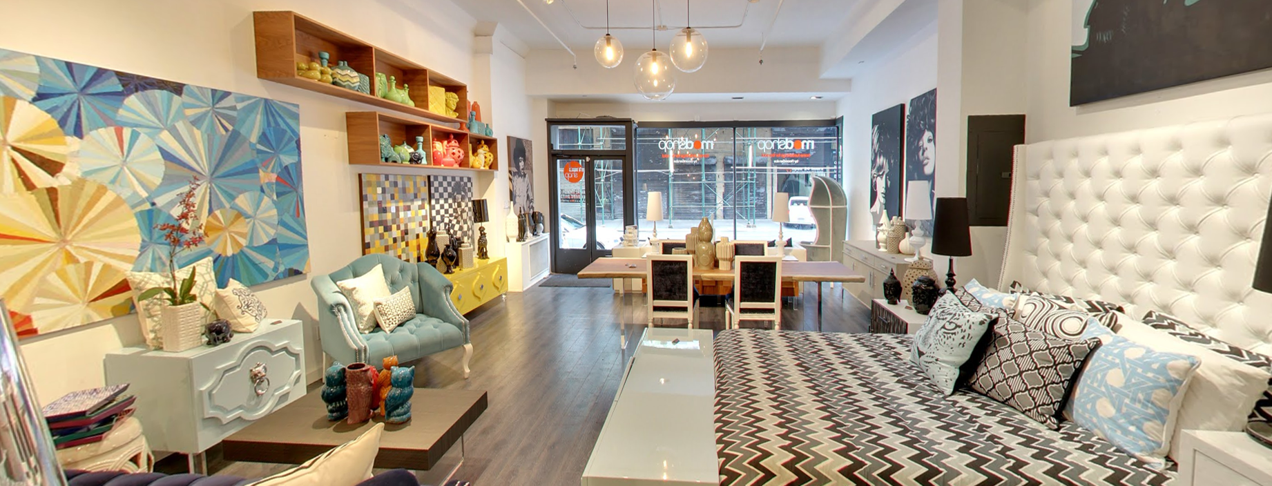 Modern furniture store in nyc for Home decor outlet stores online