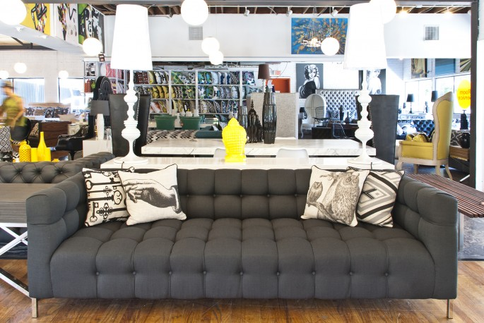 . Modern Furniture Store in Los Angeles